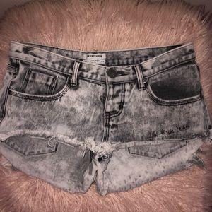 """Ahhh f*ck yeah"" Bonitas ONETEASPOON shorts"